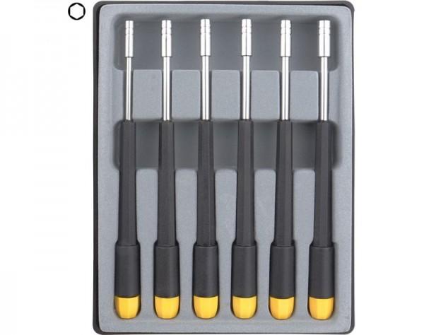 Donau Sechskant Steckschlüssel Set 6-tlg. 2,0 - 4,0 mm 280-66