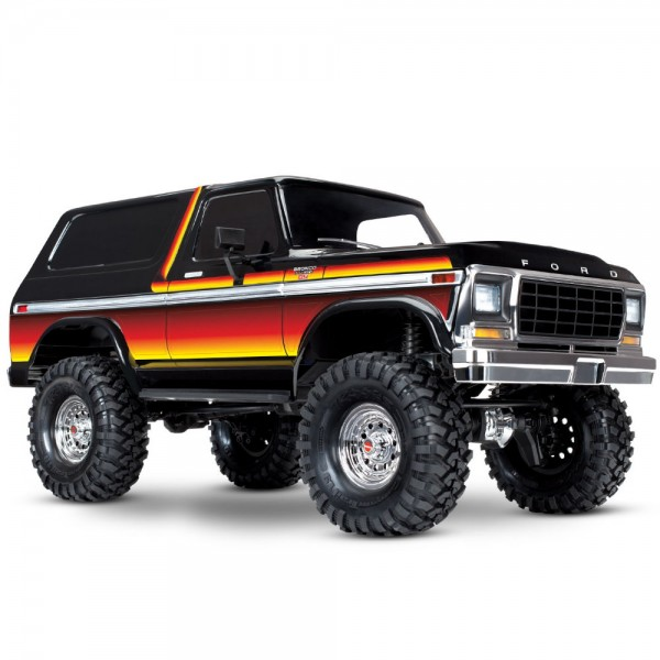 TRAXXAS TRX-4 Ford Bronco 4X4 Crawler RTR 1:10 ohne Akku & Ladegerät