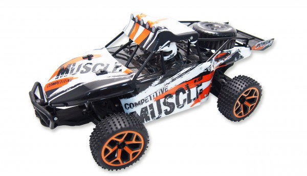 "Amewi Sand Buggy Extreme D5 ""white-orange"" 1:18 4WD RTR"