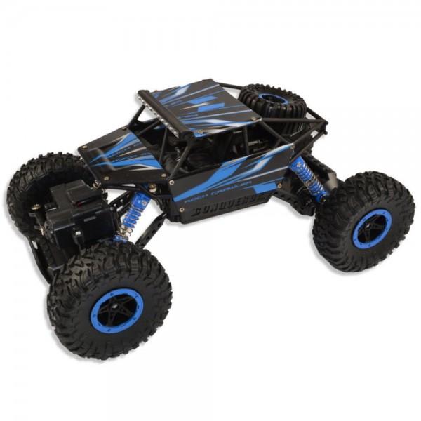 """Amewi Conqueror """"Blue"""" 4WD RTR 1:18 Rock Crawler"""