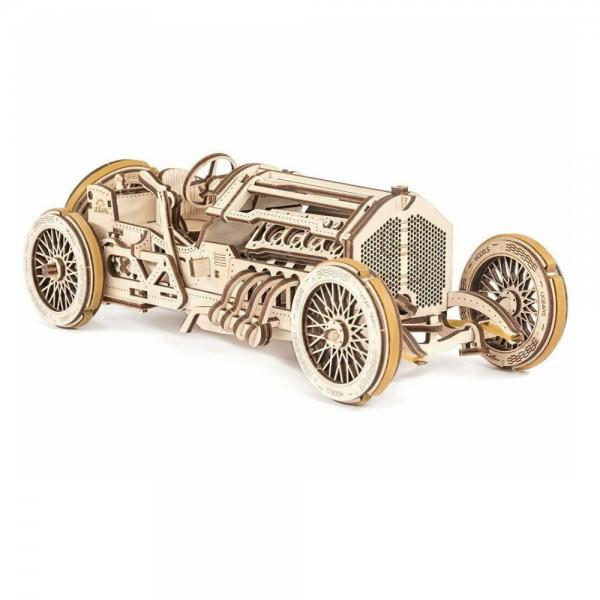 UGEARS 3D Holzpuzzle U-9 Grand Prix Rennwagen 348 Teile