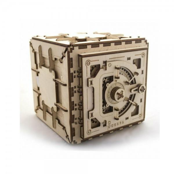 UGEARS 3D Holzpuzzle Tresor 179 Teile