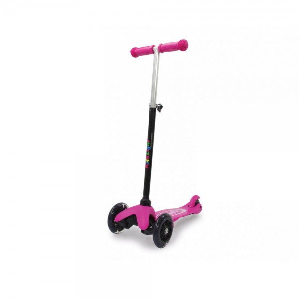 Jamara KickLight Scooter mit LED Räder pink
