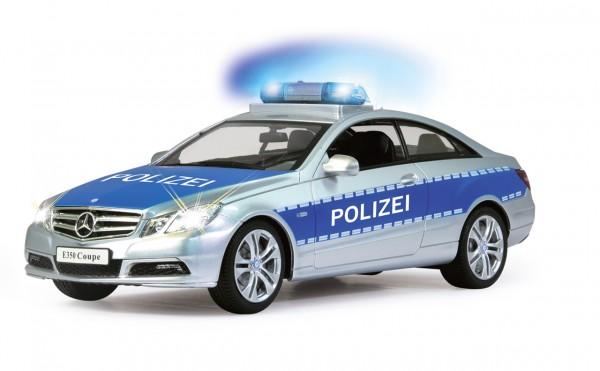 Jamara Mercedes E350 Coupe 1:16 Polizei 2,4 GHZ