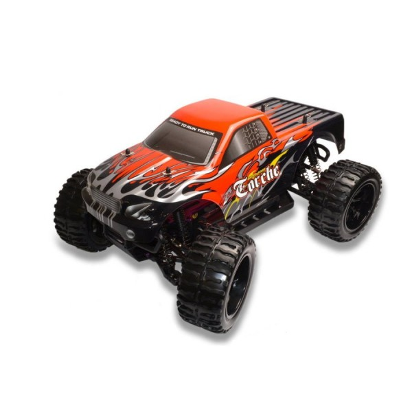 Amewi RC Elektro Monstertruck Truck TORCHE 1:10 2.4 GHz 4WD RTR incl.8x AA