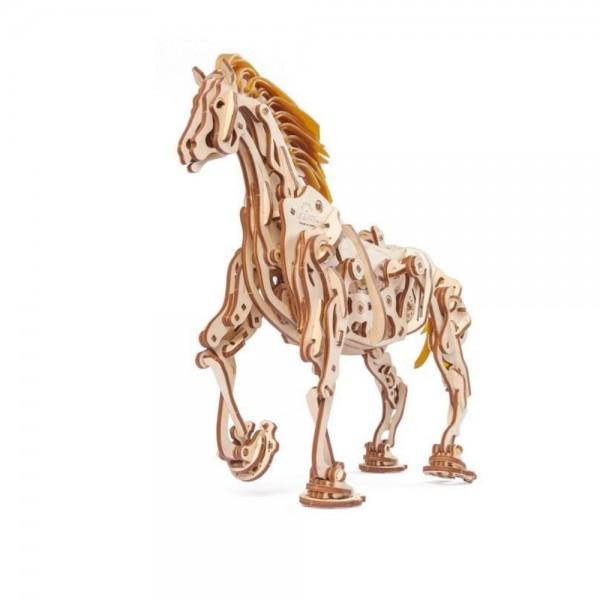 UGEARS 3D Holzpuzzle Mechanisches Pferd 410 Teile
