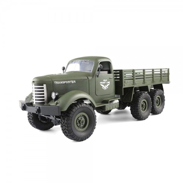 Amewi U.S. Militär Truck grün 6WD 1:16 RTR inkl. Akku & Ladegerät