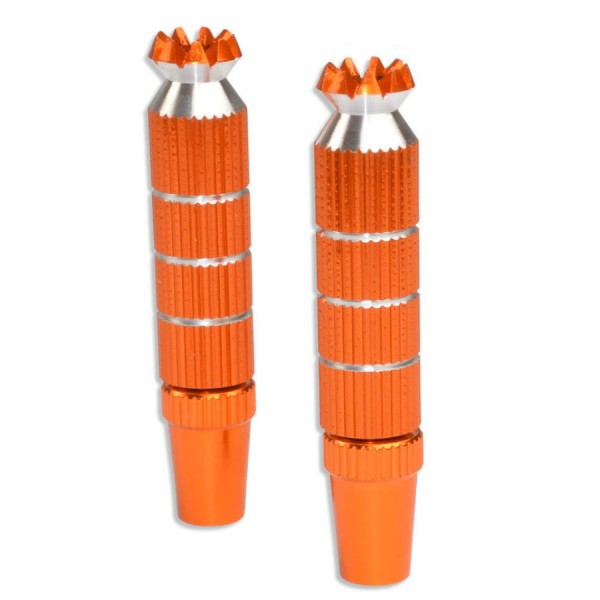 Alu Steuerknüppel M3 Lang Orange für Spektrum uvm.