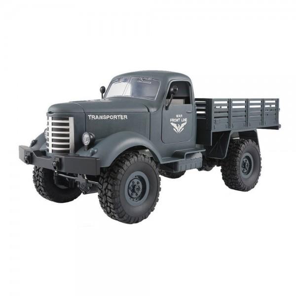Amewi U.S. Militär Truck blaugrau 4WD 1:16 RTR inkl. Akku & Ladegerät
