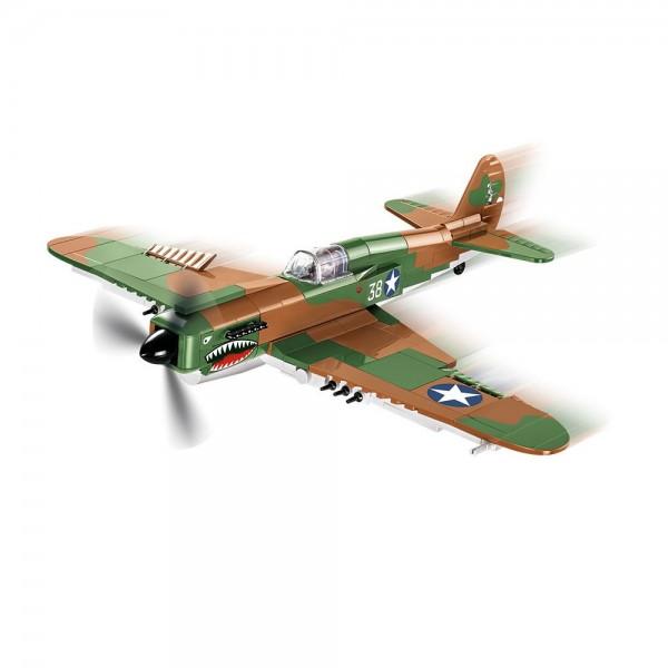 Cobi Jagdflugzeug Curtiss P-40E Warhawk 1:35 WW2