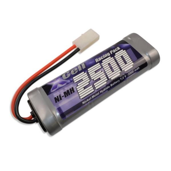 XCell RC-Pack 7,2V / 2500mAh NiMh - L2x3 Sub-C Tamiya Stecker