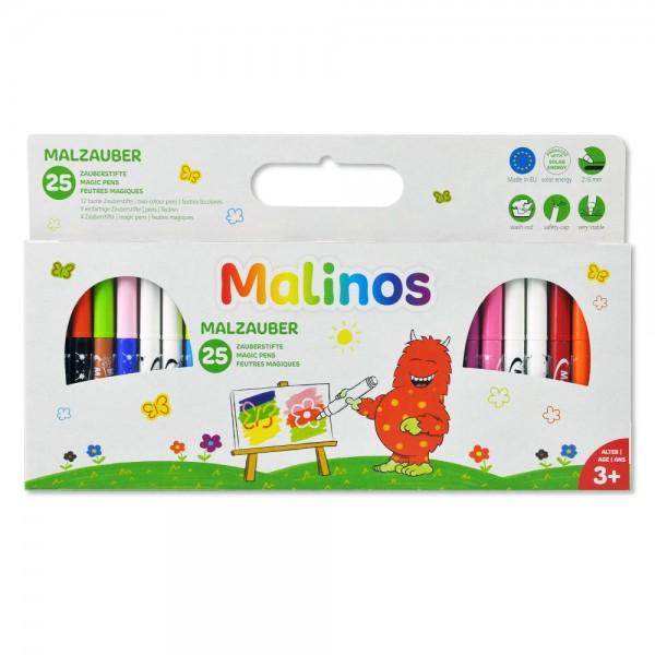Malinos Malzauber 25 Malstifte Zauberstifte Magic Pens auswaschbar