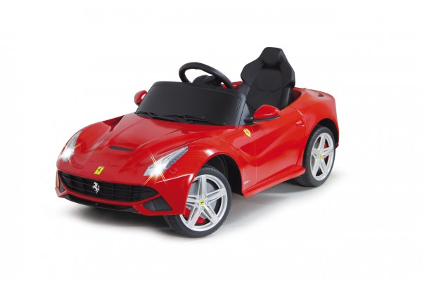 Jamara Ride-on Ferrari F12 Berlinetta rot 27Mhz 6V