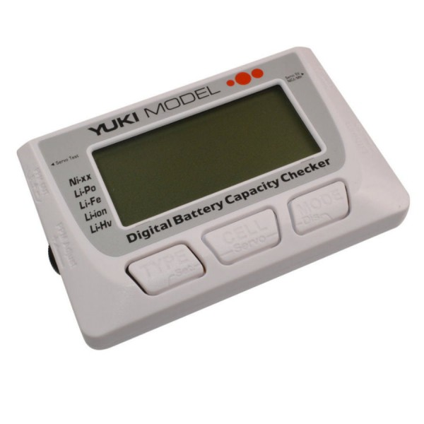 Yuki Model Digitaler Lipo Akku Tester - Lipo Checker