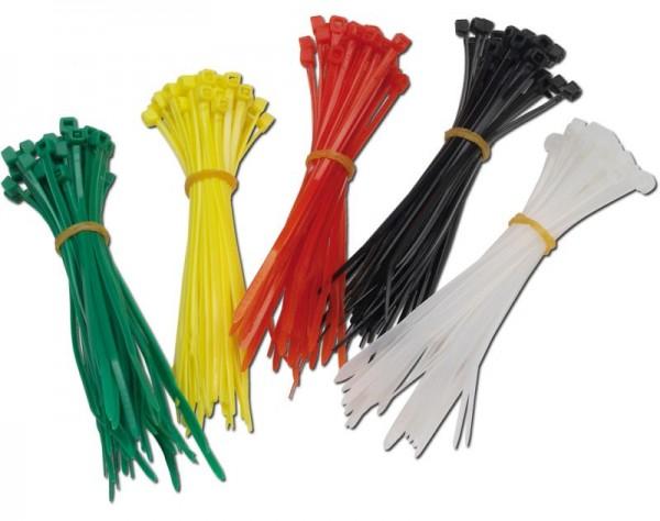 Donau Kabelbinder 200 Stück in 4 Farben E200