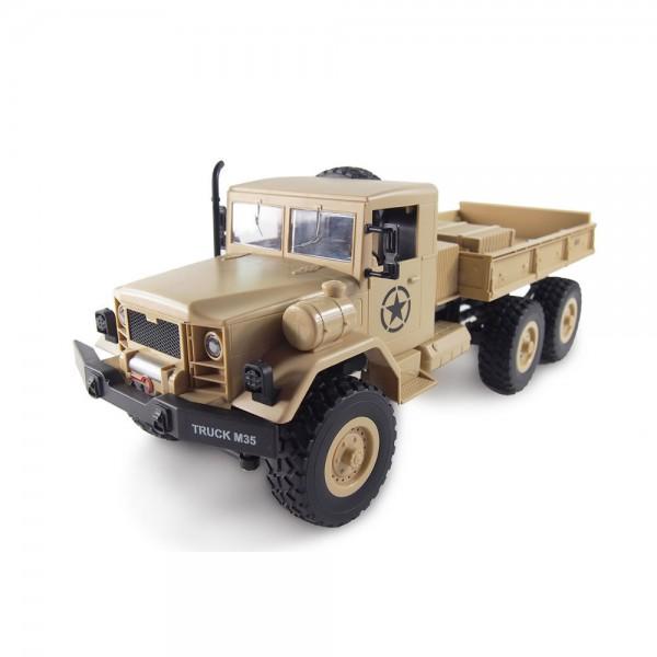 Amewi U.S. M35 Militär Truck sandfarben 6WD RTR 1:16 inkl. Akku & USB Ladekabel