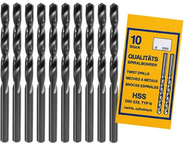 Donau HSS Bohrer Ø 2,7 mm 10er Pack HSS27