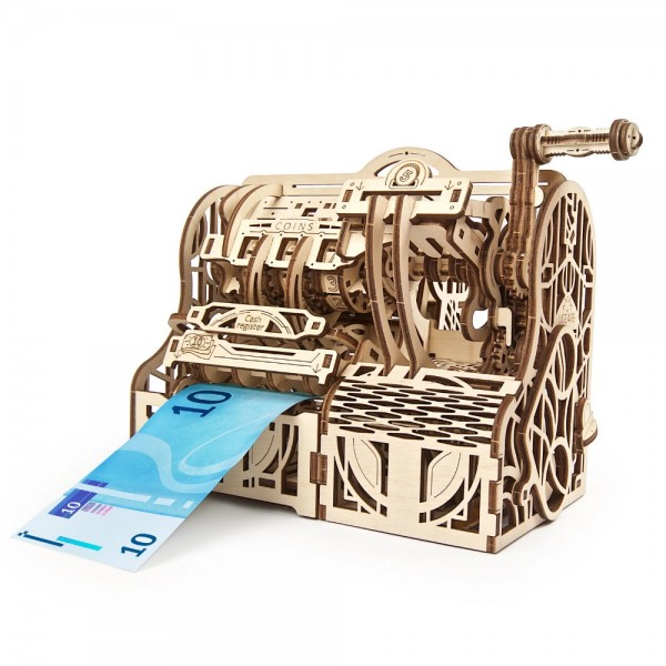 UGEARS 3D Holzpuzzle Registrierkasse 405 Teile