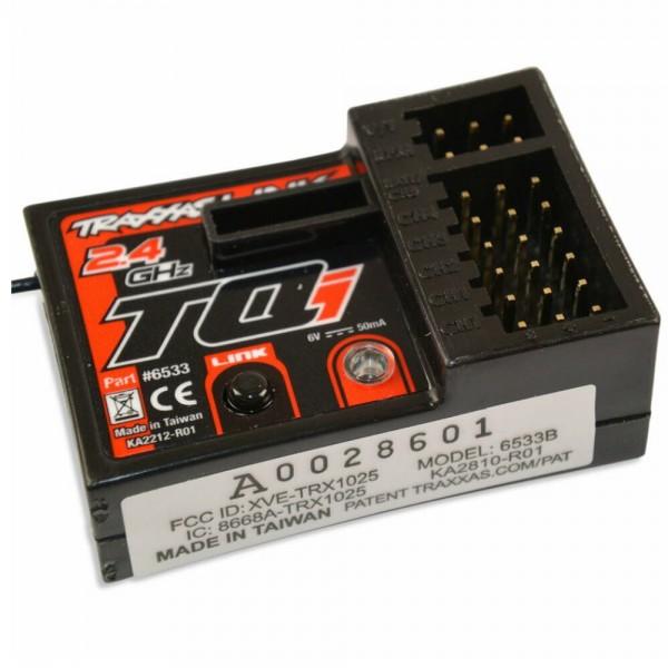 Traxxas Empfänger Micro 5Kanal mit Telemetry & TSM 2.4GHz TQi TRX6533