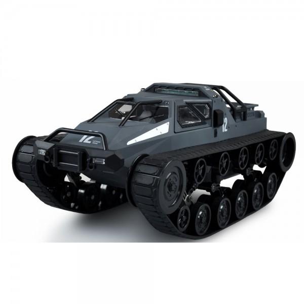 Amewi Militär Kettenfahrzeug mit Drift-Funktion 1:12 RTR grau/blau