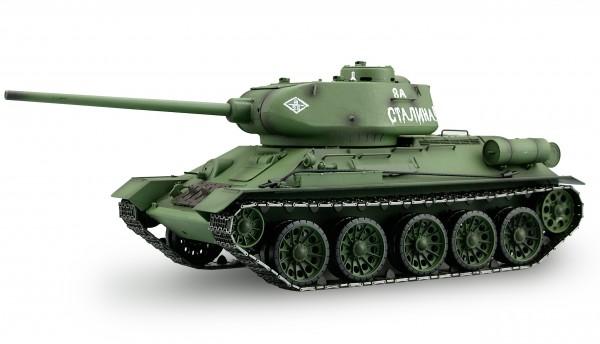 Amewi Panzer T-34/85 Rauch & Sound 1:16 R&S 6mm BB Schuß 2,4GHz