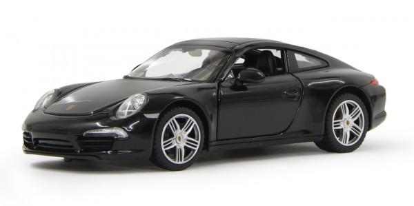 Jamara Porsche 911 1:24 Diecast schwarz