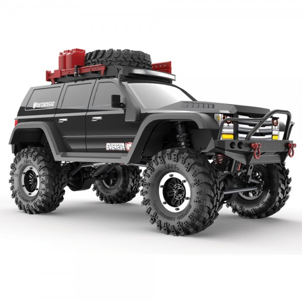 Redcat Gen7 PRO Brushed 1:10 Crawler 4WD RTR 2,4 GHz Black Edition