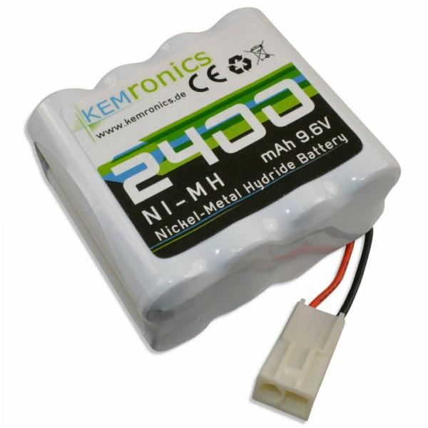 Kemronics Tuning Akku 2400 mAh NiMh  9,6V mit Mini-TAMIYA 5500