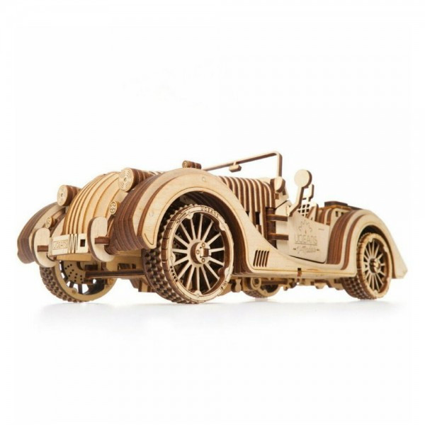 UGEARS 3D Holzpuzzle VM-01 Roadster Sportcabrio 437 Teile