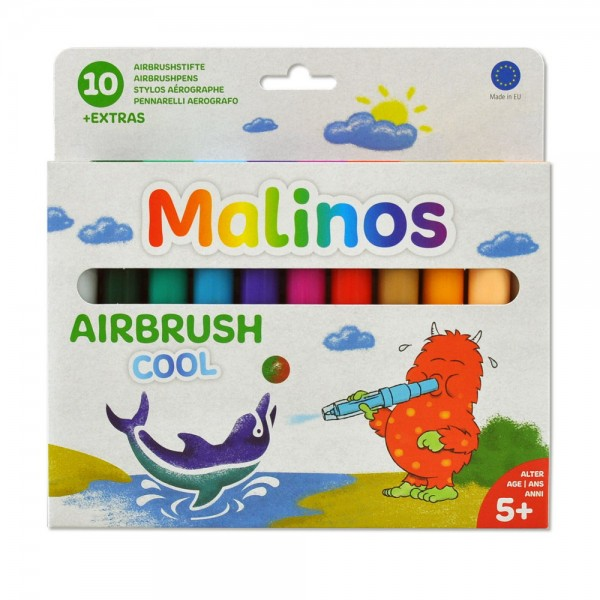 Malinos BloPens Cool 10 Stück Pustestifte im Set