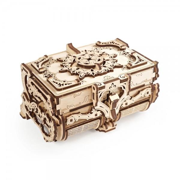 UGEARS 3D Holzpuzzle Antik Schatulle 185 Teile