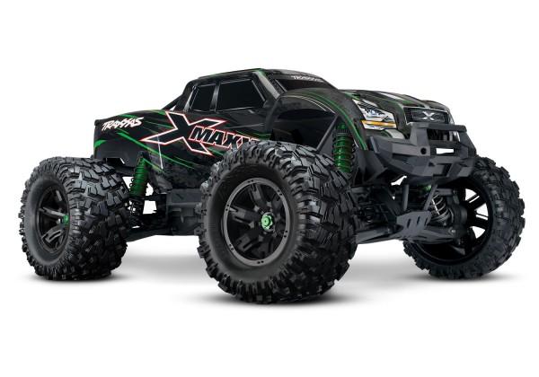 TRAXXAS X-MAXX Monster Truck 4X4 VXL grün RTR 1/7 4WD Brushless