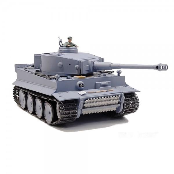 Amewi Panzer Tiger I Rauch & Sound 1:16 Grau 2,4GHz 6mm Schuß