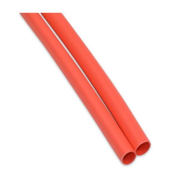 Schrumpfschlauch 6,4mm mit Innenkleber Rot 1m