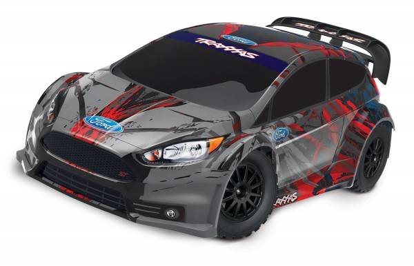 TRAXXAS Ford Fiesta ST Rally/RALLY-BRED Rally TQi Brushed