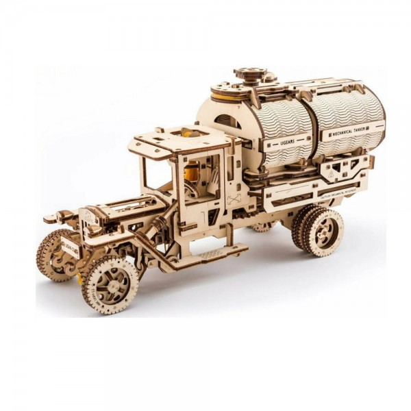 UGEARS 3D Holzpuzzle Tankwagen 594 Teile