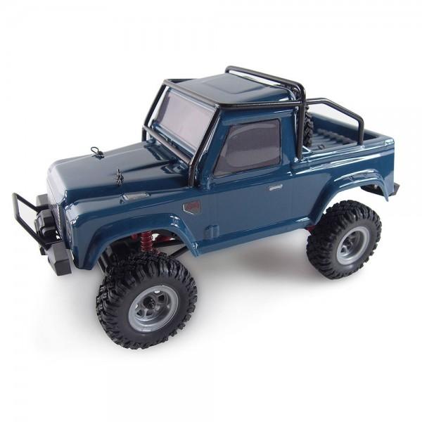 Amewi AMX Rock Crawler AM24 4WD 1:24 RTR inkl. Akku & Ladegerät blau