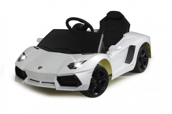 Jamara Ride-on Lamborghini Aventador weiß 40MHz 6V