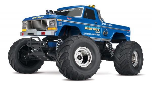 TRAXXAS BIGFOOT No.1 RTR +12V-Lader 1/10 Monster Truck