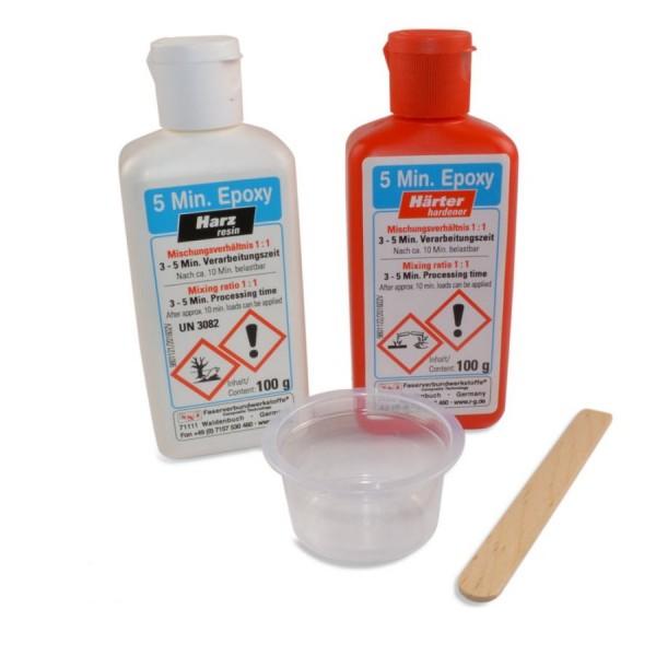 R&G 200g 5-Minuten-Epoxy - 100g Epoxidharz + 100g Epoxidhärter