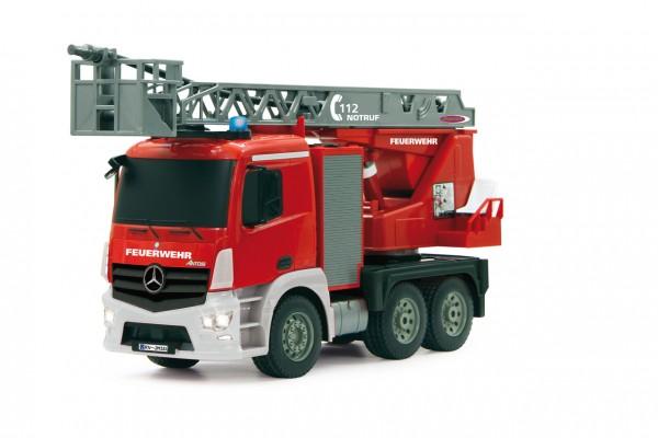 Jamara Feuerwehr Drehleiter 1:20 Mercedes Antos 2,4G