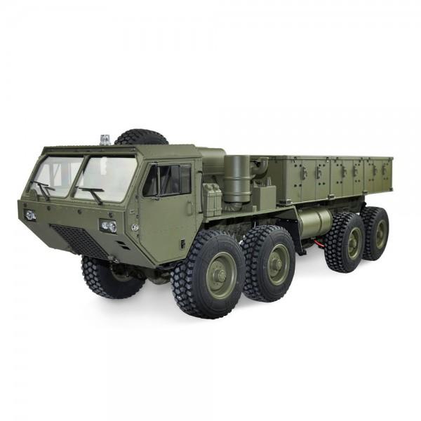 Amewi U.S. Militär Truck 8x8 1:12 mit Ladefläche military grün