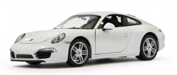 Jamara Porsche 911 1:24 Diecast weiß