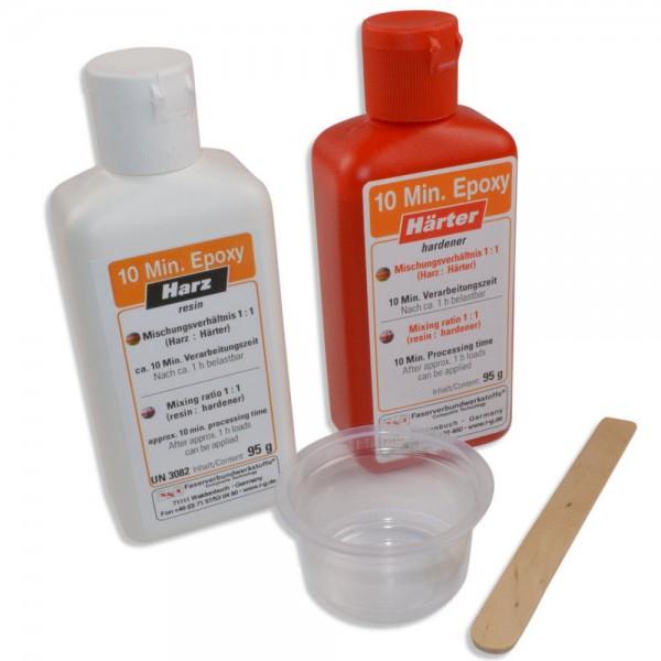 R&G 190g 10-Minuten-Epoxy 95g Epoxidharz 95g Epoxidhärter