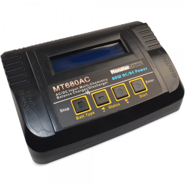 Monstertronic MT680 Ladegerät 80 Watt Profi Line