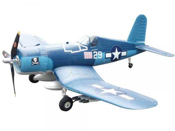 Amewi F4U Corsair blue PNP 4 Kanal SW 75 cm
