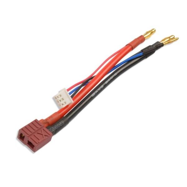 Hardcase Lipo Akku Ladekabel 2S 7,4V XH Dean T-Plug