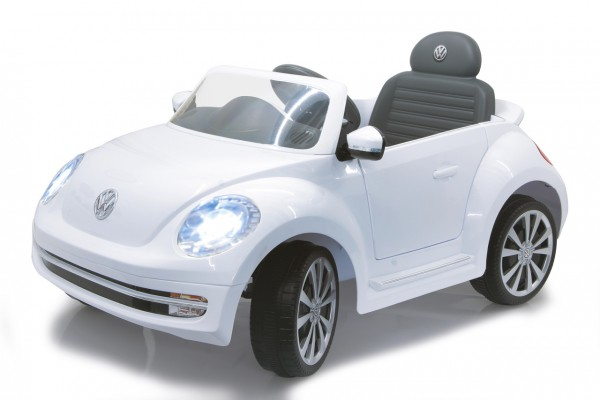 Jamara Ride-on VW Beetle weiß 27MHz 6V