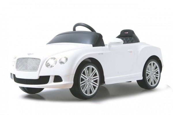 Jamara Ride-on Bentley GTC weiß 40Mhz 6V
