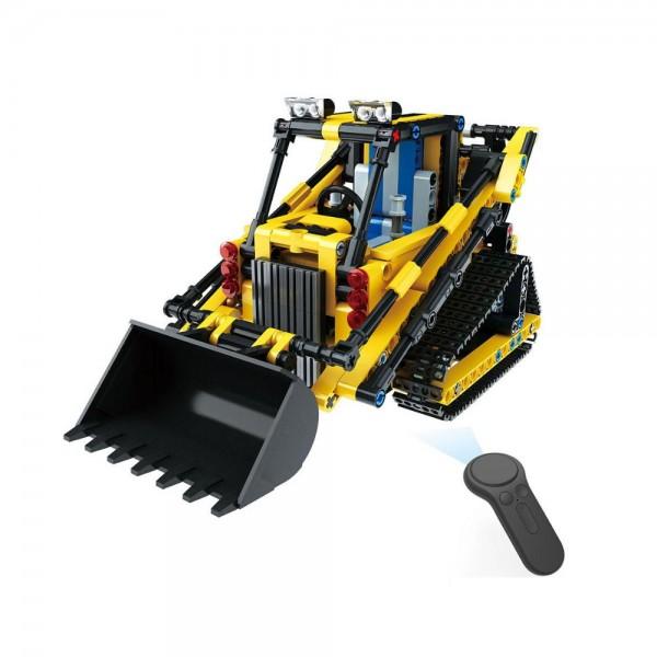 Qihui Mechanical Master RC Bausteinbagger mit schwenkbarer Schaufel
